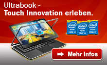 Intel Ultrabook - Touch Innovation erleben