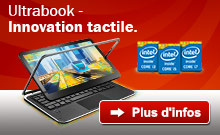 Ultrabook - Innovation tactile