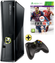 Microsoft Xbox 360 250 GB FIFA 14 Holiday Bundle, deutsch/italienisch