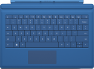 Microsoft Surface Pro 3 Type Cover, cyan