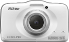 Nikon Coolpix S32, 13.2 MP, Bianco