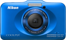 Nikon Coolpix S32, 13.2 MP, Blau