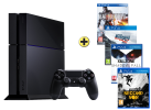 PS4 500GB incl. 4 Games