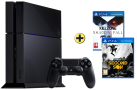 PS4 500GB inkl. Infamous & Killzone