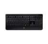 LOGITECH K800 Wireless Illuminated, nero