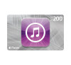 APPLE iTunes Karte CHF 200.-