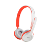 RAPOO H8030 WIRELESS HEADSET, rot