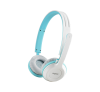 RAPOO H8030 WIRELESS HEADSET, blau