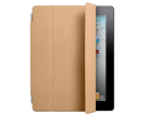 APPLE iPad Smart Cover Leder V2, hellbraun