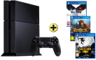 Sony PlayStation 4 + Infamous: Second Son, PS4, multilingue + Killzone - Shadow Fall, PS4, multilingue + Knack, PS4, multilingue
