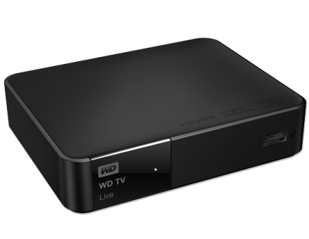 WESTERN DIGITAL TV Live, noir