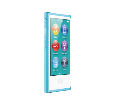 APPLE iPod Nano, 16 GB, blu, 7G
