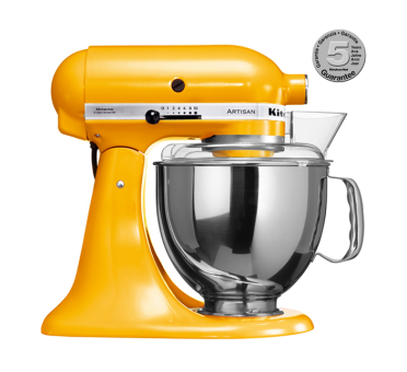 KITCHENAID, Artisan KSM150, giallo